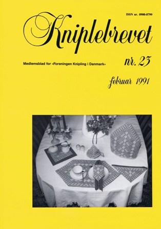 Kniplebrev 23